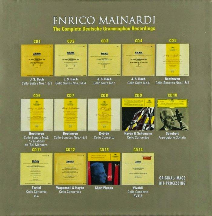 انریکو مایناردی – مجموعه کامل آثار ضبط شده در دویچه گرامافون (Enrico Mainardi)