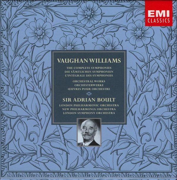 مجموعه کامل سمفونی های وان ویلیامز  به رهبری سر آدریان بالت (Vaughan Williams)