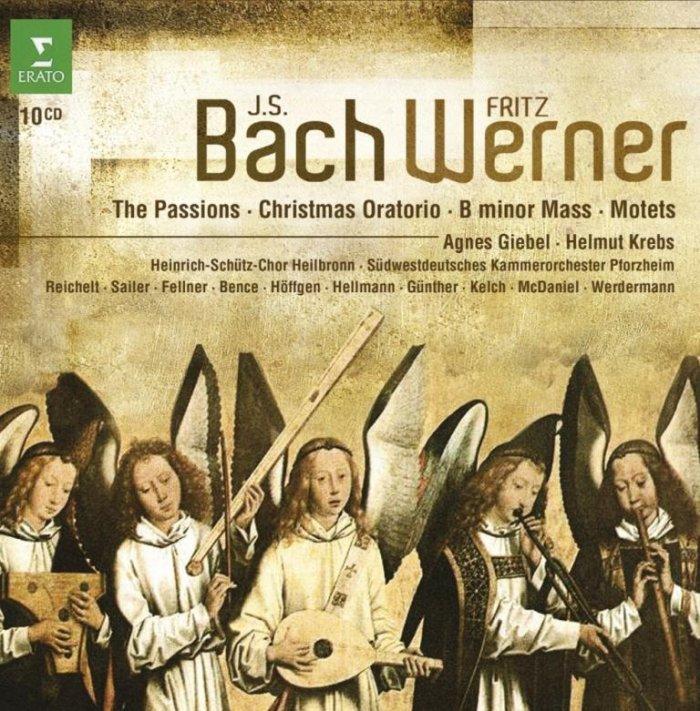 شاهکارهای موسیقی مقدس باخ به رهبری فریتز ورنر (Fritz Werner)