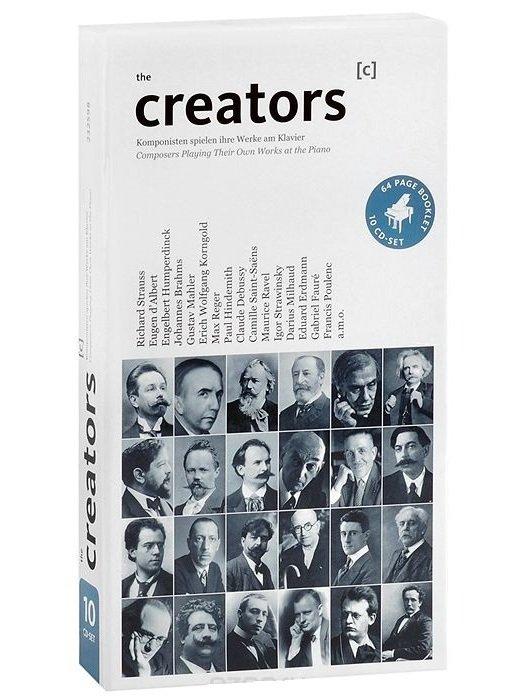 مجموعهی خالقین – آثار برجسته ایی از هنرمندان بزرگ موسیقی کلاسیک (The Creators)