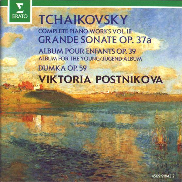 چایکوفسکی – مجموعه کامل پیانو با اجرای ویکتوریا پستنیکووا (Viktoria Postnikova)