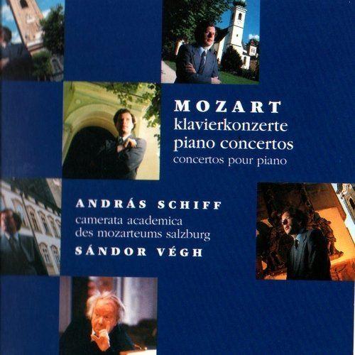 پیانو کنسرتوهای کامل موتزارت با اجرای آندریاس شیف و سندرو وج (Andras Schiff)