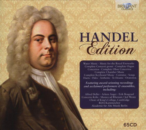 مجموعه کامل آثار جرج فردریک هندل از لیبل بریلینت (Handel Edition)
