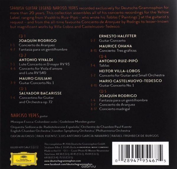 نارسیسو یپز – مجموعه ضبط های کامل کنسرتو (Narciso Yepes)