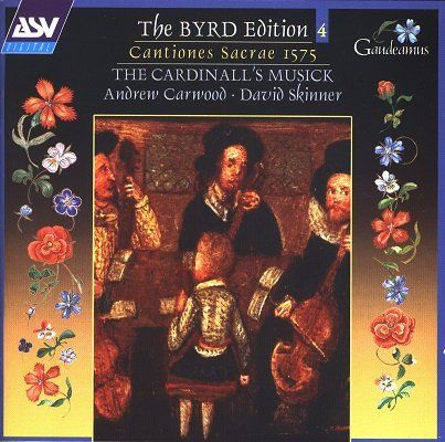 مجموعه برد ادیشن – مجموعه آثار ویلیام برد با اجرای اندرو کاروود (William Byrd)