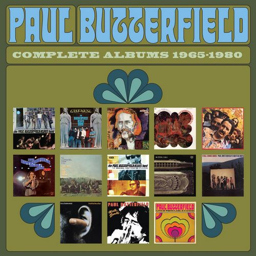 پال باترفیلد مجموعه آلبوم های سال 1965 – 1980 (Paul Butterfield)