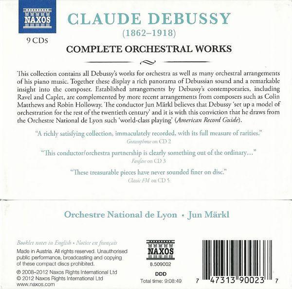کلود دبوسی – مجموعه کامل آثار ارکسترال به رهبری جان مارکل (Claude Debussy)