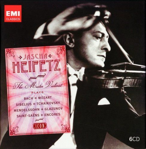 مجموعه یاشا هایفتز استاد ویولونیست (Jascha Heifetz)