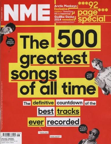 پانصد آهنگ برتر تاریخ از نگاه مجله بریتانیایی NME