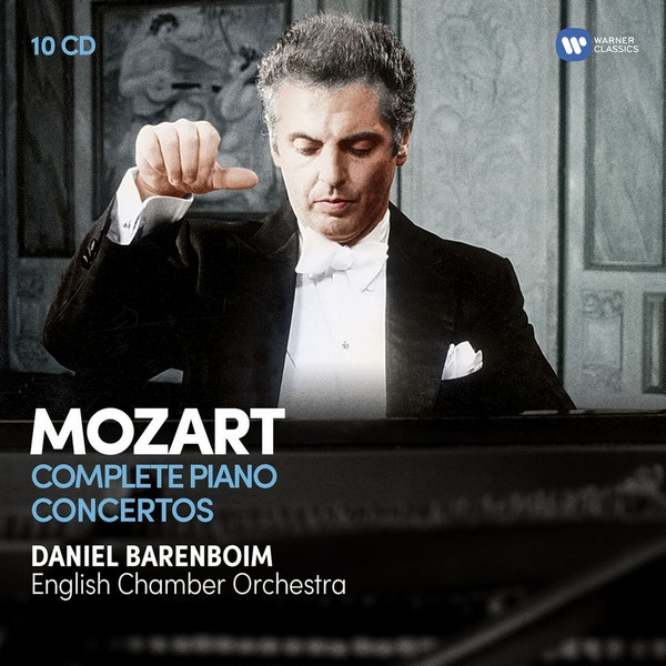 دانیل بارنبویم – پیانو کنسرتوهای موتزارت (Daniel Barenboim)