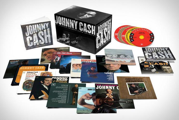 جانی کش – مجموعه کامل آلبوم های منتشر شده از لیبل کلمبیا (Johnny Cash)