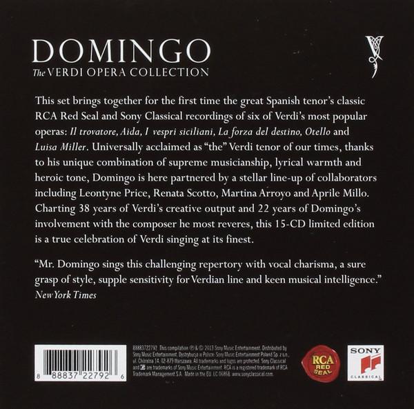 Plácido Domingo – The Verdi Opera Collection [Box 15 CDs] (2013)