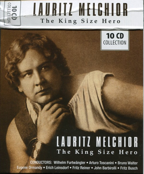 Lauritz Melchior – The King Size Hero – Box Set 10CDs