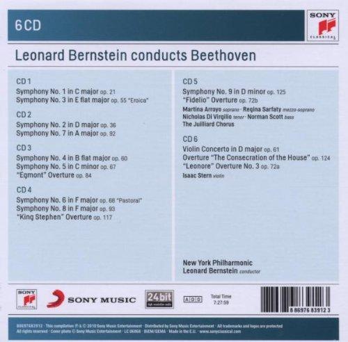 Leonard Bernstein Conducts Beethoven – Box Set 6CDs (2010)