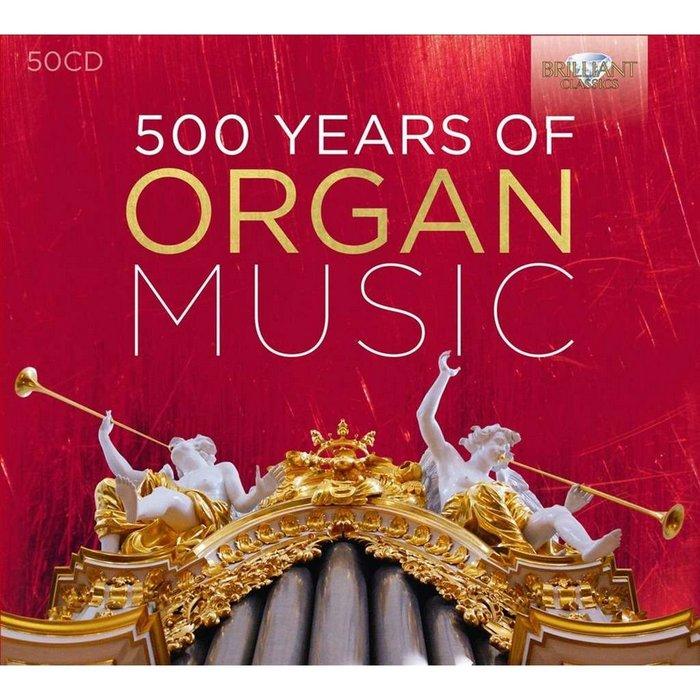VA – 500 Years of Organ Music (2016)