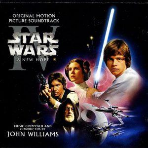 آلبوم موسیقی فیلم Star Wars episode IV A New Hope اثری از John Williams