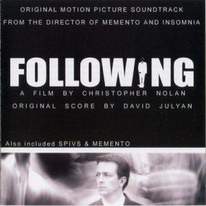 آلبوم موسیقی فیلم Following اثری از David Julyan