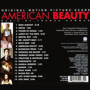 آلبوم موسیقی فیلم American Beauty اثری از Thomas Newman & VA