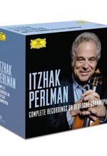 ایزاک پرلمن – مجموعه کامل ضبط های دویچه گرامافون (Itzhak Perlman)