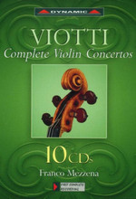 جیووانی باتیستا ویوتتی – مجموعه کامل ویولن کنسرتوها با اجرای فرانکو مزنا (Viotti)