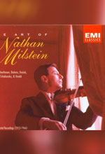 Nathan Milstein – The Art of Nathan Milstein [6CD Box Set] (1993)