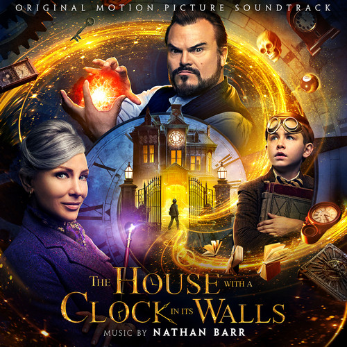 آلبوم موسیقی فیلم The House With A Clock In Its Walls اثری از Nathan Barr