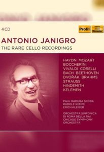 Antonio Janigro – The rare Cello Recordings