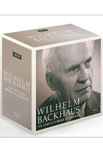 مجموعه ضبط های ویلهلم باکهاوس (Wilhelm Backhaus) برای کمپانی دکا (Decca)