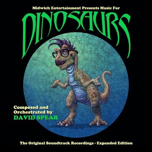 موسیقی متن فیلم Music for Dinosaurs اثری از David Spear