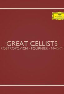 رستروپویچ و میشا مایسکی و پیر فورنیر – ویولنسلیست های بزرگ (Great Cellists)