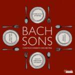 Bach Sons Symphonies by J. C. Bach, J. C. F. Bach, W. F. Bach & C. P. E. Bach