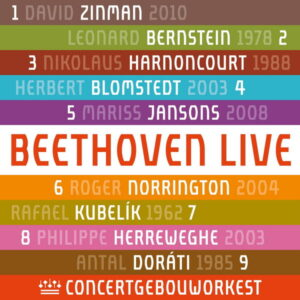 آلبوم موسیقی Beethoven Symphonies Nos 1-9 اثری از Concertgebouworkest
