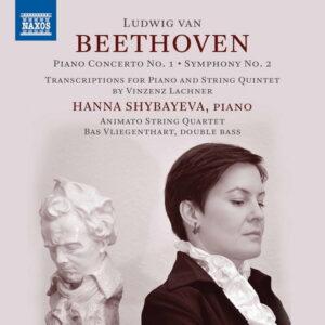 آلبوم موسیقی Beethoven Piano Transcriptions اثری از هانا شیبایوا (Hanna Shybayeva)