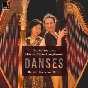 آلبوم موسیقی Danses اثری از Marie-Pierre Langlamet, Naoko Yoshino