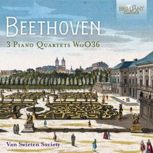 آلبوم موسیقی Beethoven 3 Piano Quartets WoO36 اثری از Van Swieten Society