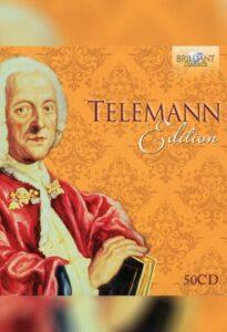 مجموعه گئورگ فیلیپ تیلمان نسخه 50 سی دی از لیبل بریلینت کلاسیک
