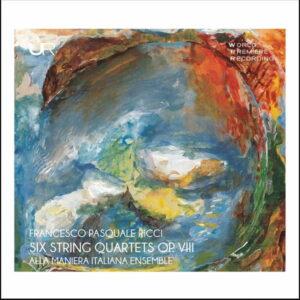 آلبوم موسیقی Ricci 6 String Quartets Op. VIII اثری از آلا مانیرا ایتالیانا (Alla Maniera Italiana Ensemble)