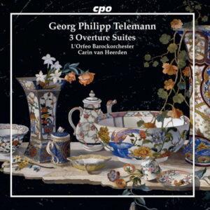 آلبوم موسیقی Telemann Overtures اثری از  کارین ون هیردن (Carin van Heerden)
