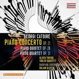 آلبوم موسیقی Catoire Chamber Works اثری از الیور ترندل (Oliver Triendl)
