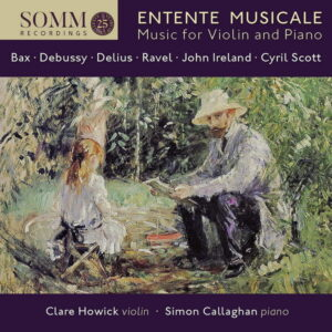 آلبوم موسیقی Entente musicale اثری از سایمون کالاهان (Simon Callaghan)