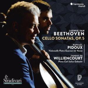 آلبوم موسیقی Beethoven Cello Sonatas Op. 5 اثری از تانگی دو ویلیانکور (Tanguy de Williencourt)