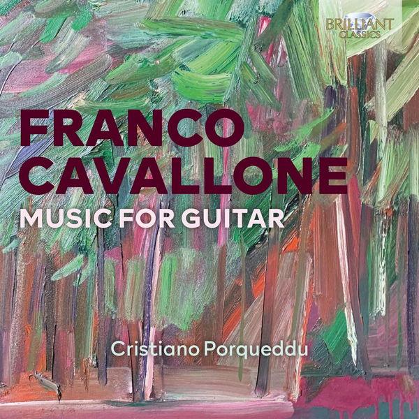 آلبوم موسیقی Cavallone Music for Guitar اثری از کریستیانو پورکوئدو (Cristiano Porqueddu)
