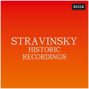آلبوم موسیقی Stravinsky Historic Recordings اثری از هنرمندان مختلف
