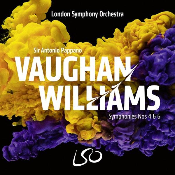 آلبوم موسیقی Vaughan Williams Symphonies Nos. 4 & 6 اثری از آنتونیو پاپانو (Antonio Pappano)