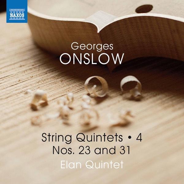 آلبوم موسیقی Onslow String Quintets Vol. 4 Nos. 23 & 31 اثری از الن کوینتت (Elan Quintet)