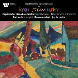 آلبوم موسیقی Stravinsky Capriccio, Octet, Pulcinella, Duo concertant & Jeu de cartes اثری از ایگور استراوینسکی (Igor Stravinsky)