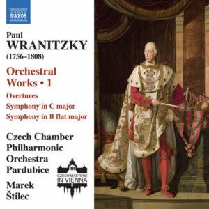 آلبوم موسیقی Wranitzky Orchestral Works Vol. 1 اثری از مارک استیلیک (Marek Stilec)