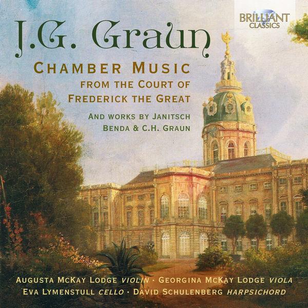 آلبوم موسیقی J.G. Graun Chamber Music اثری از جورجینا مک کی لژ (Georgina McKay Lodge)