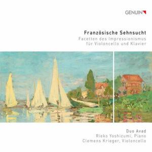 آلبوم موسیقی Französische Sehnsucht Facetten des Impressionismus für Violoncello und Klavier اثری از دو آواد (Duo Avad)