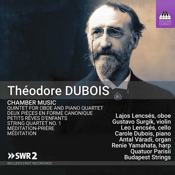 آلبوم موسیقی Dubois Chamber Music اثری از کواتور پاریسی (Quatuor Parisii)
